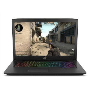 "ASUS ROG Strix GL703VM Gaming Laptop 17.3""   Intel Core i7-7700HQ 2.8 GHz  16GB DDR4 RAM  256GB PCIe SSD + 1TB HDD  GTX 1060 6GB  RGB Keyboard"
