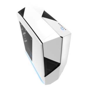 NZXT Noctis 450 White + Blue LED Mid Tower Casing (CA-N450W-W1)