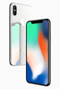 Apple iPhone X (4G  256GB  Silver)