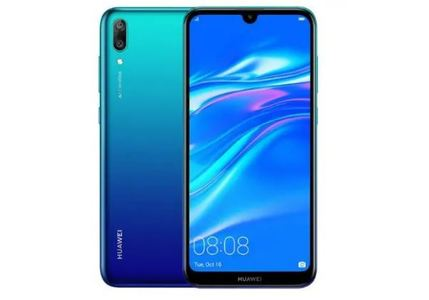 Huawei Y7 Prime 2019 Dual Sim (4G  3GB  32GB) Blue 1 year Warranty