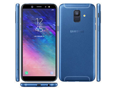 Samsung Galaxy A6 (2018) A600FD Dual Sim (4G  3GB RAM  32GB ROM  Blue)