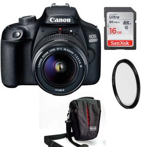 Canon 4000D DSLR Camera Kit Combo Offer
