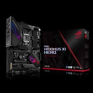 ASUS ROG MAXIMUS XI HERO GAMING INTEL LGA-1151 Z390 DDR4 4400MHz AURA SYNC RGB ATX MOTHERBOARD (3 Years Limited Warranty)