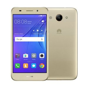 Huawei Y3 (2017) Dual Sim (3G  8GB  Gold) 1 Year Official Warranty