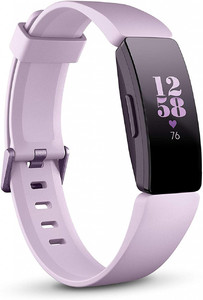 Fitbit Inspire HR Heart Rate & Fitness Tracker  One Size (S & L bands included) Lilac