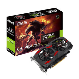 ASUS Cerberus GeForce GTX 1050TI 4GB GDDR5 Graphics Card (1 Year Local Warranty)
