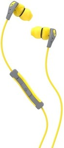 Skullcandy S2CDGY-411 In-the-ear Headset(Yellow)