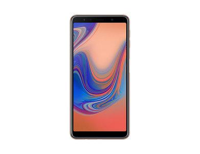 Samsung Galaxy A7 (2018) A750FD Dual Sim (4G  4GB RAM  128GB  Gold)