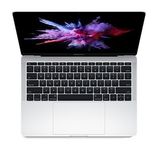 Apple Macbook Pro MPXR2 - 7th Gen Ci5 08GB 128GB SSD 13.3Retina Display Intel Iris Plus Graphics 640 Mac OSx Sierra (Silver - Mid 2017)