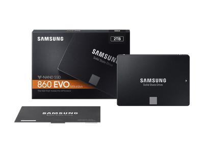 Samsung 860 EVO 2TB Solid State Drive (SSD) - 1 Year Warranty