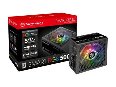 Thermaltake Smart RGB Series 500W 80+ Power Supply (6 Months Official Warranty)