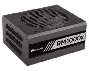 Corsair RMx Series™ RM1000x 1000 Watt 80 PLUS® Gold Certified Fully Modular PSU (UK)