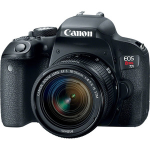 Canon EOS Rebel 800D T7i DSLR with 18-55mm Kit Lens