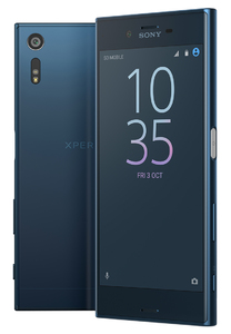 Sony Xperia XZ SOV34 AU Carrier (4G  64GB  Forest Blue)