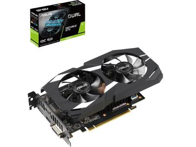 ASUS Dual GeForce GTX 1660 Ti DUAL-GTX1660TI-O6G 6GB 192-Bit GDDR6 HDCP Ready Graphics Card (3 Years Limited Warranty)