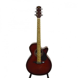 SX 41 Full Size Semi Acoustic Guitar (Red) With Microphone Option