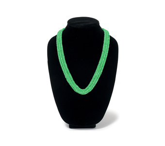 Chic Style Green Pearl Bead Mala Necklace
