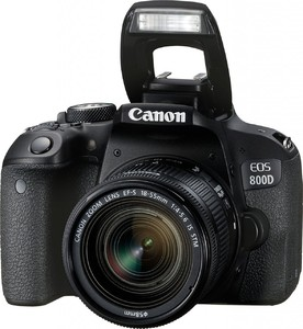 Canon EOS Rebel 800D T7i DSLR Body Only (1 Year MBM Warranty)