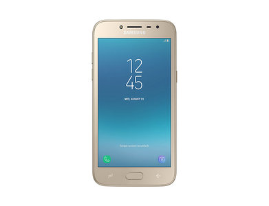 Samsung Galaxy Grand Prime Pro Dual Sim (4G  16GB  Gold) 1 Year Official Warranty