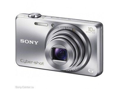 Sony DSC-WX200 Digital Compact Camera with WiFi (Silver) with free 4 GB Memory Card and Pouch