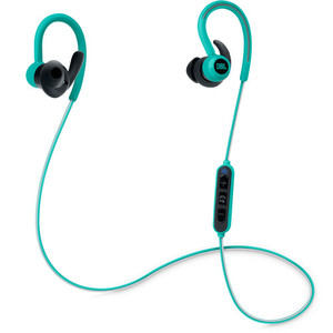 JBL Reflect Contour Bluetooth Wireless Sports Headphones Teal JBLREFCONTOURTEL