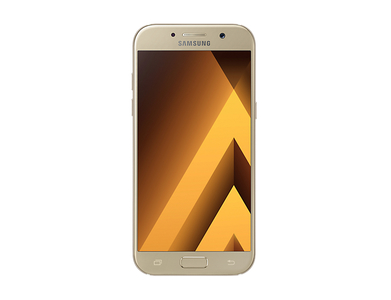 Samsung Galaxy A3 (2017) A320F (4G  16GB  Gold Sand) Official Warranty