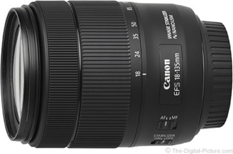 Canon EOS 80D DSLR with 18 135mm Nano USM Lens (Canon Warranty)