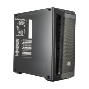 Cooler Master MCB-B511D-KANN-S00 MasterBox MB511 Red Trim Front With Mesh Ventilation  Black Steel/Plastic/ATX Mid-Tower Computer Case