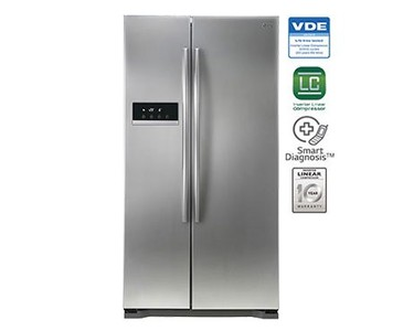 LG GC-207GLQS PS3 Side By Side No Frost Refrigerator