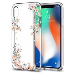 Apple iPhone X Spigen Liquid Crystal Blossom Nature Case