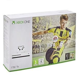 Microsoft Xbox One S FIFA 17 Bundle 1TB (HDD) White