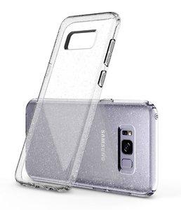 Galaxy S8 Plus Spigen Liquid Crystal Glitter Case – Crystal Quartz