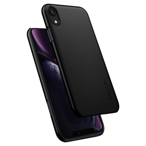iPhone XR Thin Fit Spigen Case Black 064CS24864
