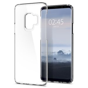 Samsung Galaxy S9 Spigen Original Thin Fit Case – Crystal Clear