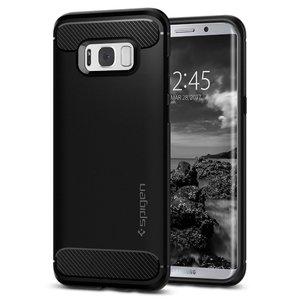 Samsung Galaxy S8 Spigen Rugged Armor Case - Black