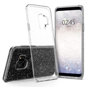 Galaxy S9 Spigen Liquid Crystal Glitter Case – Crystal Clear