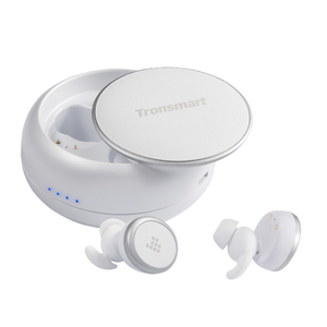 Tronsmart Encore Spunky Buds True Wireless Earphones with Charger Box – White