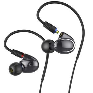 FiiO FH1 Dual Driver Hybrid Over the Ear Earphones – Black