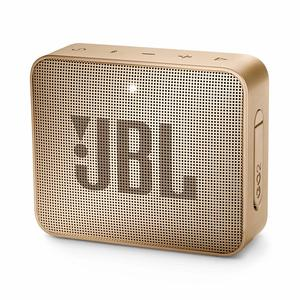 JBL GO 2 Portable Bluetooth Waterproof Speaker – Pearl Champaign