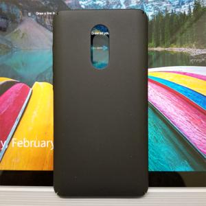 Mi Redmi Note 4X Cafele Hard Matte PP Case - Black - Fits on Pakistani Variant