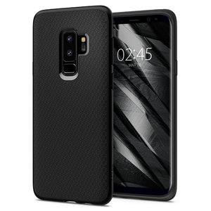 Samsung Galaxy S9 Plus Spigen Original Liquid Air Soft Case - Matte Black