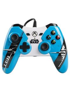 Xbox One Star Wars The Force Awakens Controller  X Wing  Blue  - PowerA