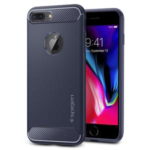Apple iPhone 7 Plus / 8 Plus  Spigen Rugged Armor Case – Midnight Blue