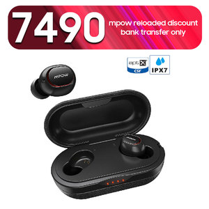 T5 True Wireless Earbuds by MPOW with Qualcomm aptX  CVC 8.0 Noise Cancellation 36 Hour Battery