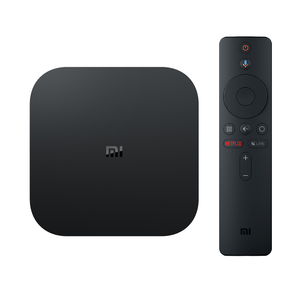 Xiaomi Mi Box S with 4K HDR Android TV Streaming Media Player Google Assistant Remote Official International Version