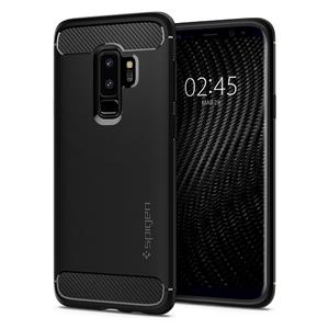 Samsung Galaxy S9 Plus Spigen Original Rugged Armor Soft Case - Matte Black