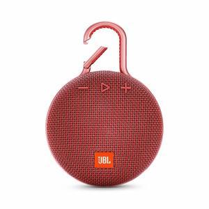 JBL Clip 3 Portable Waterproof Wireless Bluetooth Speaker – Red