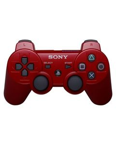 DualShock 3 Wireless Controller for PlayStation 3 (Red Vine) Games Arena