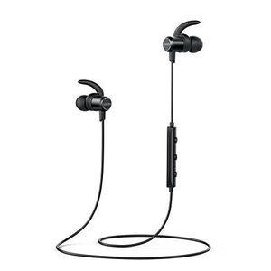 Anker SoundBuds Slim Wireless Headphones  Bluetooth 4.1 – Black (A3235H11)
