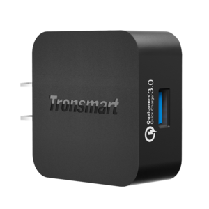 Tronsmart 1 Port Wall Qualcomm 3.0 Certified Rapid Charger – WC1T – US Plug